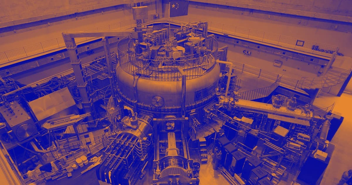 CFP via CGTNfusion reactor in china nuclear plasma sun temperature