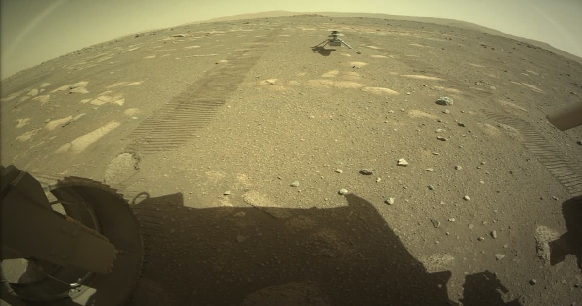 Perseverance Drops Off Ingenuity Helicopter On Martian Surface